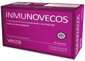 Equinácea con propóleo para reforzar el sistema inmunológico – Vitamina C, betaglucanos y zinc para proteger nuestro sistema respiratorio contra los cambios estacionales – 30 cápsulas