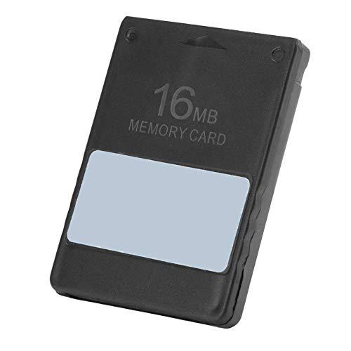 Tarjeta de Memoria para Juegos Tarjeta de Memoria Duradera Resistente sin limitación de área, para P-S2(16MB)