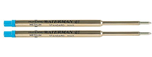 Waterman 376699 (12) Refill per Penna a Sfera, Blu