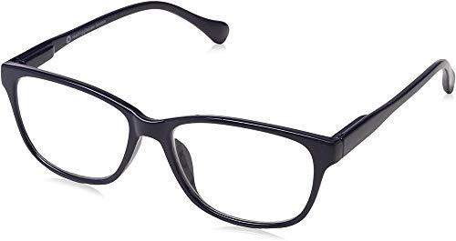 UV Reader Marineblau Leicht Kurzsichtigkeit Fernbrille Designer Stil Herren Frauen Mit Etui UVMR027 -1,00