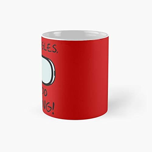 The Goggles Roufxis - Taza clásica de Rb   Mejor regalo divertido tazas de café 12 oz