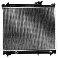 TYC 2506 Compatible with CHEVROLET Tracker 1-Row Plastic Aluminum Replacement Radiator