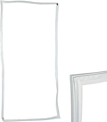 TronicXL Kühlschrank türdichtung Universal 2000x1000mm 2x1m Kühlschrankdichtung Tür Dichtung Dichtungsgummi Dichtgummi zb kompatibel mit Ersatzteil für zb viele Geräte von Bosch Siemens Miele