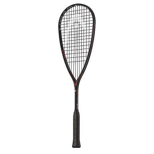 Head Raqueta de Squash, Cordel, Hecha con grafeno, 211057, Negro, Rojo
