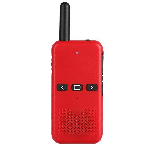 Walkie Talkie inalámbrico 110-240V(red, European regulations)
