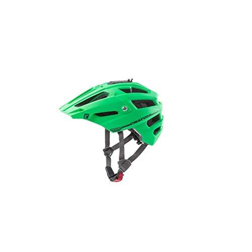Cratoni Unisex– Erwachsene AllTrack (MTB) Fahrradhelm, Grün, One Size