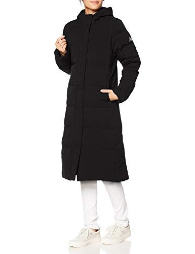 [ルコックスポルティフ] ダウンロングコート はっ水 保温 防寒 フード付き レディース BLK 日本 S (日本サイズS相当)