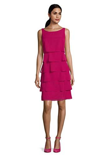 Vera Mont Damen 0063/4825 Kleid, Rosa (Berry Pink 4221), (Herstellergröße: 38)