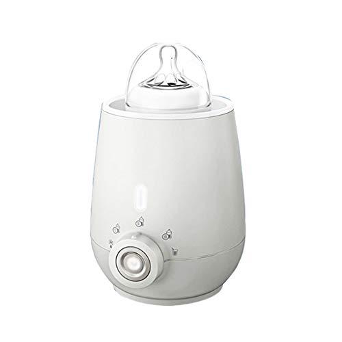 Elektrische Küchengeräte Warme Milch automatische warme Milch intelligente Heizung Flaschenwärmer Multifunktionsheizer Babykostwärmer & Warmhalteboxen (Color : Weiß)