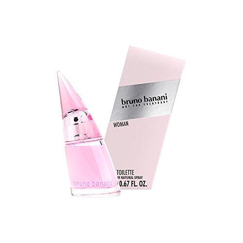 bruno banani Woman – Eau de Toilette Natural Spray – Blumig-fruchtiges Damen Parfüm – 1er Pack (1 x 20ml)