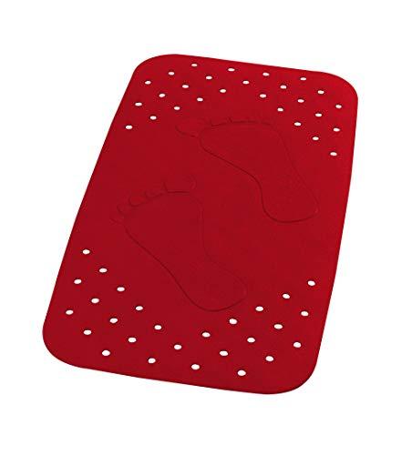 Ridder Wanneneinlage Plattfuß rot 38x72 cm