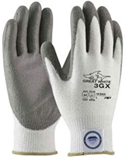 PIP 19-D322/M Great White 3GX Dyneema174 Diamond Blended Glove, PU Coated, M