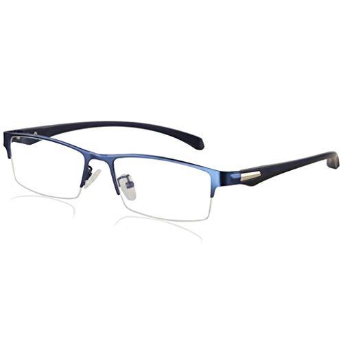 ZHANGYY Lesebrille, Photochrome Progressive Sonnenbrille mit intelligentem Übergang, Federscharniere Sonnenschutzmittel aus Edelstahl für Herren/Damen
