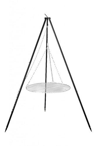 FARMCOOK Schwenkgrill NOBEL Dreibein mit Grillrost aus Edelstahl in 4 Größen (Ø 50 cm)