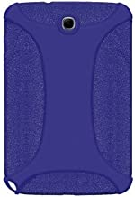 Amzer AMZ95524 Silicone Soft Skin Case Cover for Samsung Galaxy Note 8.0 N5100 - 1 Pack - Retail Packaging - Blue
