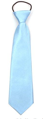 WS Kinder Krawatte Kinderkrawatte Taufe Hochzeit festlich Einschulung (hellblau)