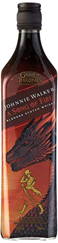 Johnnie Walker Song of Fire Whisky Escocés, Edición limitada Juego de Tronos: Casa Targaryen – 700 ml