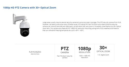 Digimerge Termocamera FLIR N336Zd3 2.1MP 30X IP PTZ. Onvif Profilo S Conformità