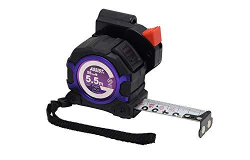 高儀 TAKAGI ASSIST ソフトタッチロックコンベックス�U 25mm×5.5mホルダー付 SJH2-2555