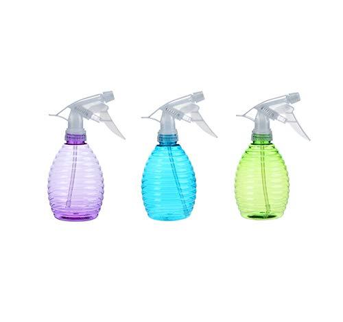 Mist Vide Bouteilles Spray for pulvérisateur à gâchette, Brume et Modes de Nettoyage Flux for -Pack de 3 (Color : Combination Color, Size : 350ml)