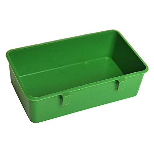 Guangcailun Pet Dishes Bowl Plastic Pet Food Container Large Capacity Animal Drinking Water Tub