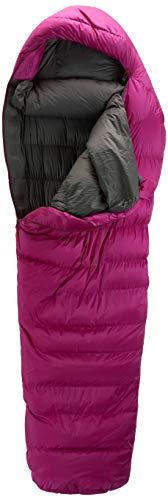Mountain Equipment Damen Glacier 1000 Regular Schlafsack, Foxglove, RZ