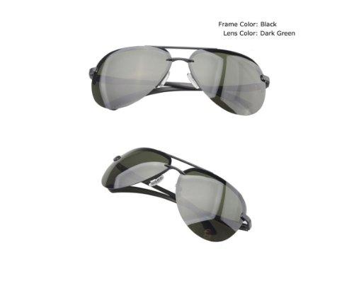 2013más reciente Aviación aluminio magnesio HD anti-glare UV gafas de sol polarizadas espejo de conducción F001