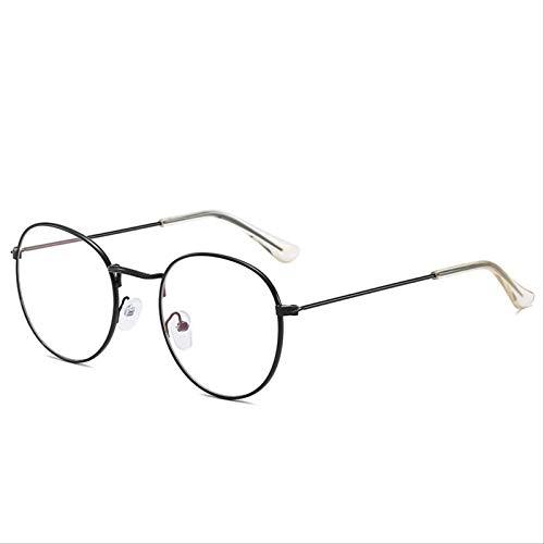 ODNJEMSD Gafas De Sol Vintage De Marco Redondo Elegantes Gafas De Sol para Mujer Coloridas Gafas De Sol De 28 Colores