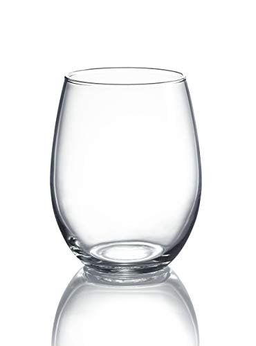 15-ounce Stemless Wine Glasses