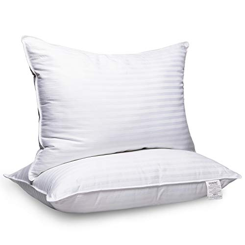 Adoric Pillows for Sleeping, 2 Pack Premium Hotel Bed Pillows,Breathable Gel-Fiber Down...