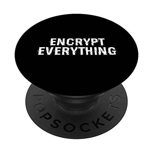 Diseño de encriptación inspirado en la encriptación PopSockets PopGrip Intercambiable