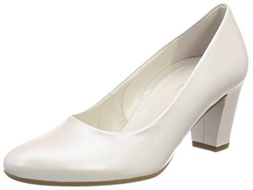 Gabor Shoes Damen Comfort Fashion Pumps, Weiß (Off-White (Natur), 40.5 EU