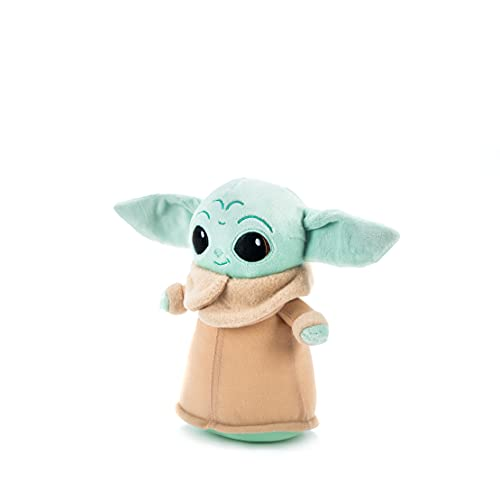 Simba-6315875796 Peluche The Child Baby Yoda 18 cm, Licencia Oficial Disney, para Todas Las Edades, Multicolor (6315875796)
