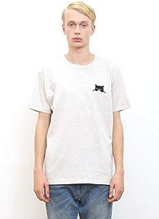 (グラニフ) graniph ベーシックTシャツ/サーパスキャットフェイス (ヘザーナチュラル)