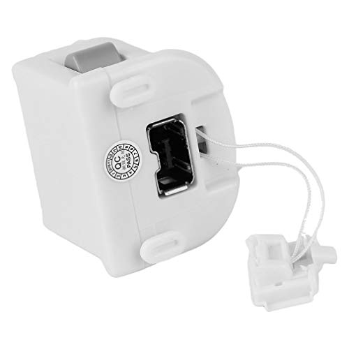 Motion Plus Sensore Adattatore MotionPlus per Telecomando Nintend Wii Bianco