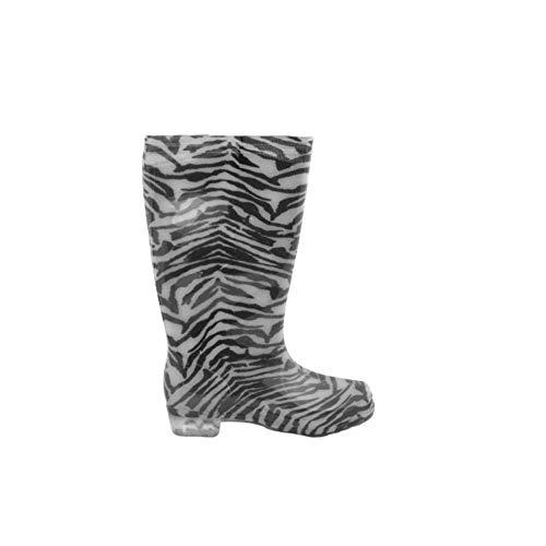 Gummistiefel Zebra, Mehrfarbig - Zebra - Größe: 41 EU