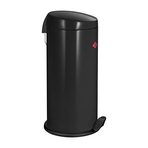 Wesco Tretabfallsammler Capboy Maxi 22 Liter schwarz