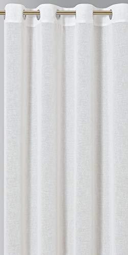 Montse Interiors, S.L. Cortina Translúcida (Lilium Blanca, 145x260)