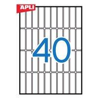 【APLI】 マルチA5角丸ラベル15枚40面 (AP-01863) [オフィス用品]