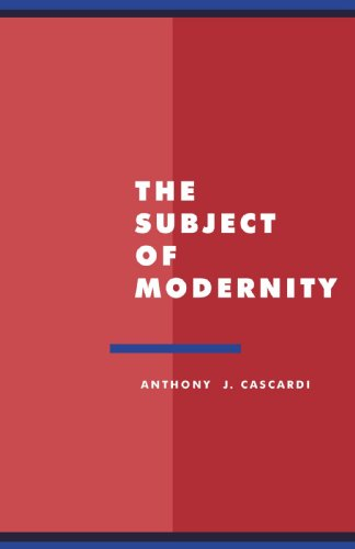 The Subject of Modernity (Literature, Culture, Theory, Series Number 3)の詳細を見る