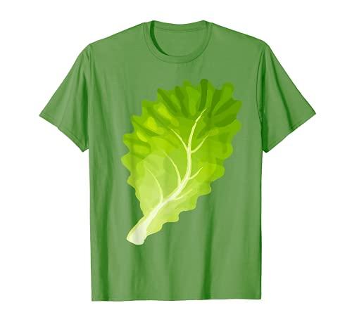 Hamburguesa Disfraz de lechuga vegetariana a juego hamburguesa Camiseta
