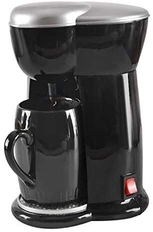 KK Zachary Cafetera, American Drip Single Cup Small Drip Tipo Máquina Todo en uno Mini máquina de café eléctrica