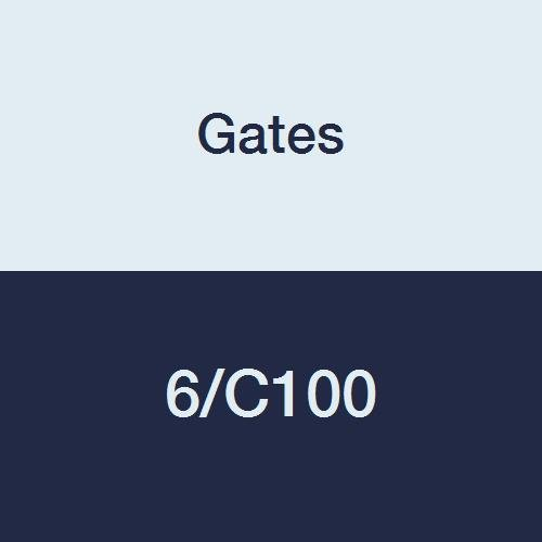Puertas 6/C100HI-POWER II banda de potencia con V-80programa a juego de correa trapezoidal Sección, C, 5–1/4'Ancho Total, 17/32' altura, 104.0'cinturón fuera Circunferencia