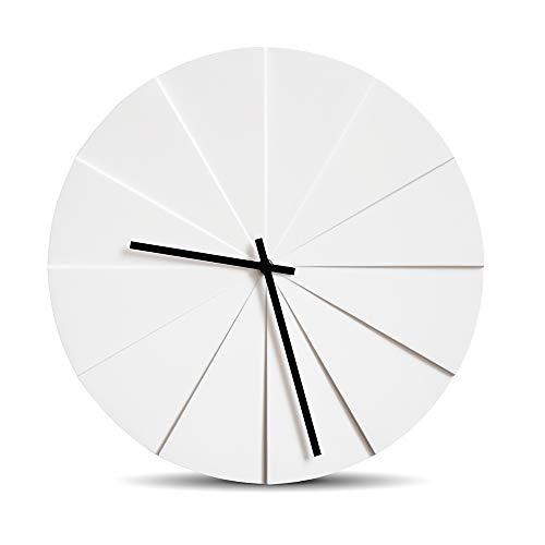 Leff Amsterdam - wandklok, klok - scope - Ø: 38 cm - kleur: wit