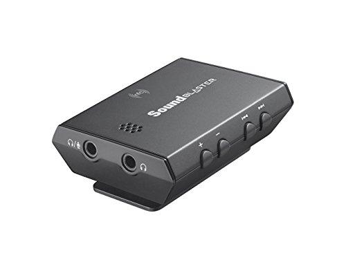 Creative Sound Blaster E3 Kopfhörerverstärker (3,5 mm Mikrofon, Bluetooth, NFC, USB) schwarz