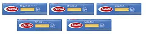 5x Pasta Barilla Capellini Nr. 1 italienisch Nudeln 500 g pack spaghetti