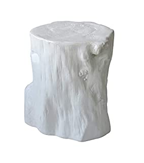Moe's Home Collection Log Bar Stool, Antique White (B0787N4VVP)   Amazon price tracker / tracking, Amazon price history charts, Amazon price watches, Amazon price drop alerts