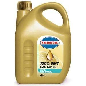 TAMOIL 9574 Olio per Auto 100% SINT Gpl 5W30 Litri4