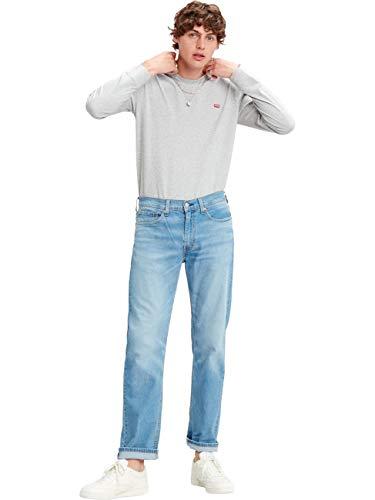 Preisvergleich Produktbild Levis® Herren Jeans Jeanshose 514(TM) - Straight Fit - Blau - Florida Light Mid W30-W40 Stretchjeans 96% Baumwolle,  Größe:W 38 L 34,  Farbvariante:Florida Light Mid (1341)