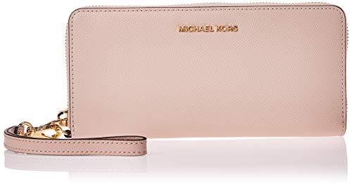 Michael Kors Reise-Portemonnaie Jet Set Continental, Pink (rosa - soft pink), Einheitsgröße